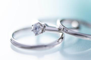 美しい結婚指輪のイメージ