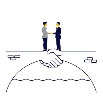 Negociación efectiva con el cliente. Concepto de asociación, transacción correcta.