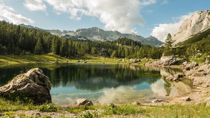 Fotobehang Alpen 7 Seen Tal
