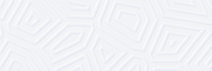 White silver geometric universal background for business presentation . Abstract elegant seamless pattern. Minimalist empty triangular BG. Halftone monochrome cover. Modern digital minimal color 2020  Fotobehang