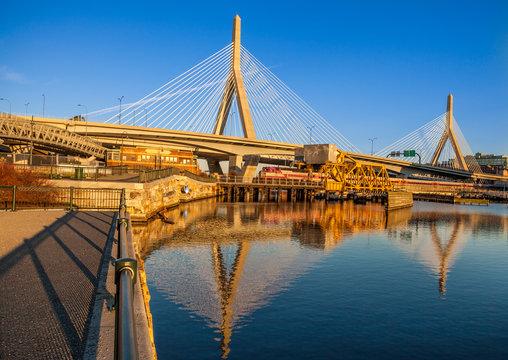 Boston at Zakim Bridge