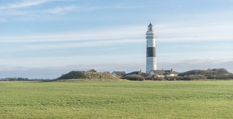 The lighthouse of Kampen on the Island of Sylt  Fototapete