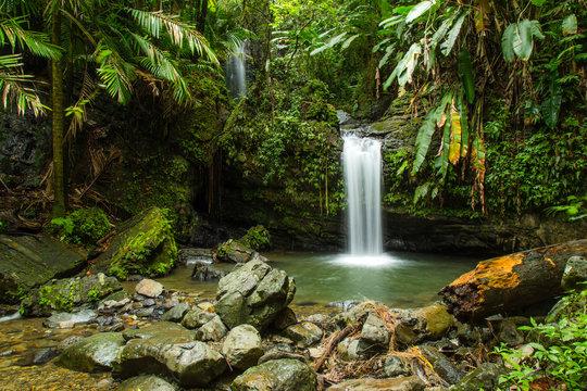 Juan Diego Falls, El Yunque, Puerto Rico