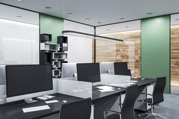 Coworking office in loft style