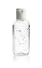 Coronavirus prevention hand sanitizer gel.