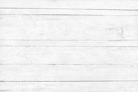 White wood planks texture background with natural patterns for design art work and interior or exterior.