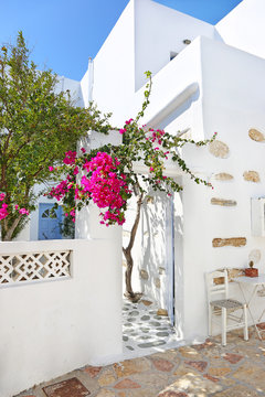 traditional white houses at Ano Koufonisi island Cyclades Greece