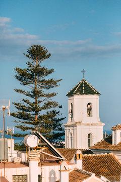 Details of Nerja village in Malaga, Spain