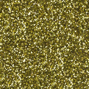 Elegant yellow glitter, sparkle confetti texture. Christmas abstract background, seamless pattern.