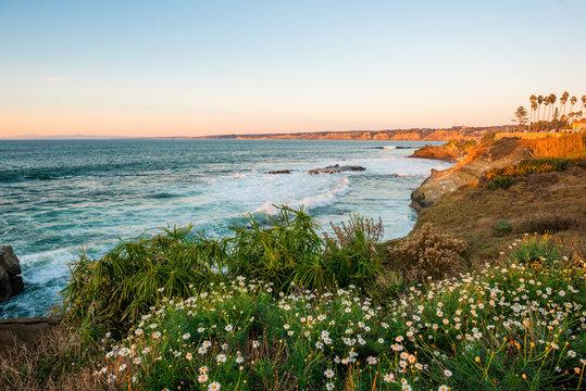 Beautiful La Jolla beach and coast,San Diego, California