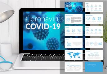 COVID-19 Infographic Presentationlayout