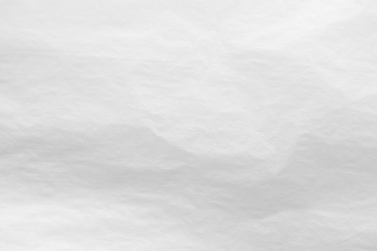 White crumpled paper abstract background texture