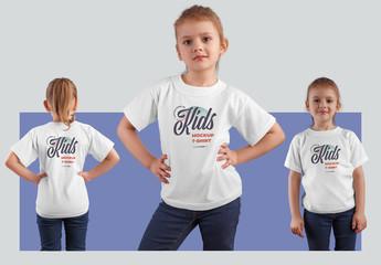 3 Kids T-Shirt Mockups