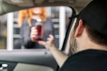 Crisis: Bartender Delivers Growler Of Beer Curbside