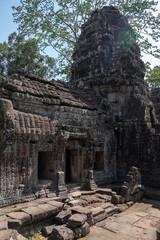 Keuken foto achterwand Historisch mon. Picturesque scenery of ruins of religious temple