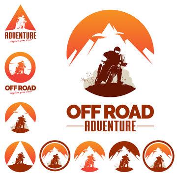 Off Road Adventure Motocross sport theme