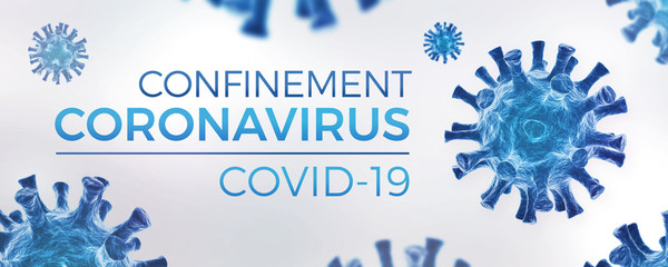Door stickers Wall Decor With Your Own Photos Confinement Coronavirus COVID-19