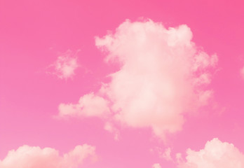 Stores à enrouleur Rose banbon pink sky and clouds background