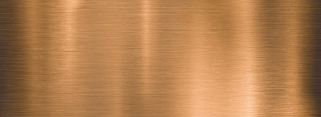 Wall Mural - metal brushed bronze wide textured plate or plaque