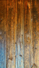 Vertical wooden background. With space for your text.