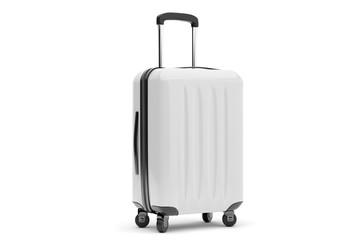 Fototapeta Isolated suitcase on a background obraz