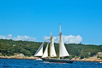 Entrella Tall Ship Fotobehang