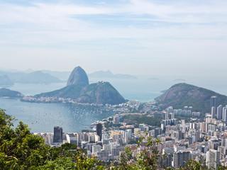Fotorollo Rio de Janeiro View at Rio de Janeiro with Guanabara and Sugarloaf