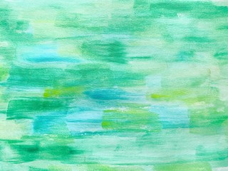 green abstract  background with texture of paper Wall mural