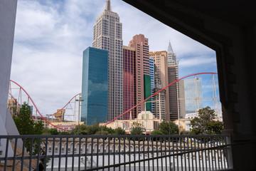 Foto op Aluminium Las Vegas skyline at Las Vegas, Nevada