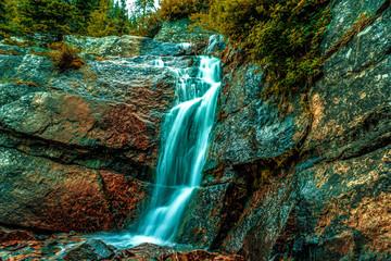 Door stickers Waterfalls waterfall exposure
