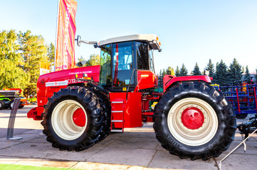 Modern agricultural tractor Versatile 2375 4wd