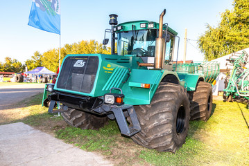 "Modern agricultural tractor K-704-4R ""Stanislav"" of Syzran plant Selmash"