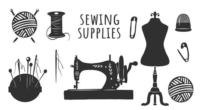 Sewing supplies DIY kit set