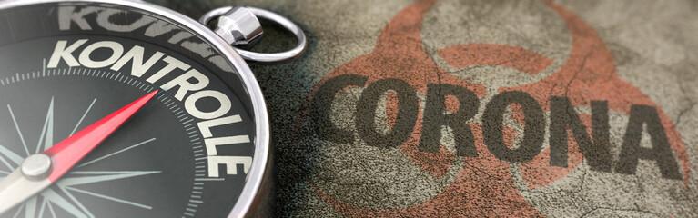 Kontrolle über die Corona- Pandemie