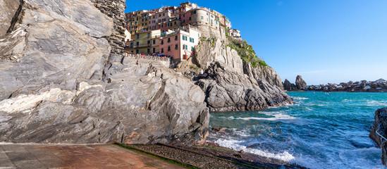 Photo sur Aluminium Beautiful colors of Cinque Terre, Italy