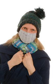 schutzmaske grippe corona covid19 krank infektion mundschutz ansteckung virus