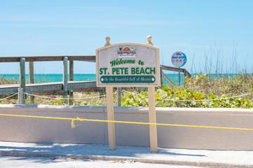 St, Pete Beach closed