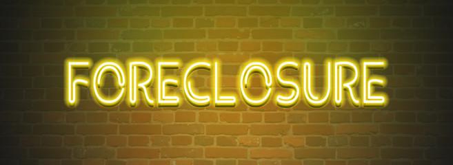 Foreclosure web Sticker Button