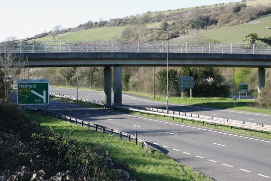 A23 Road Brighton to Gatwick