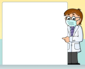 Canvas Prints For Kids Doctor theme frame 2