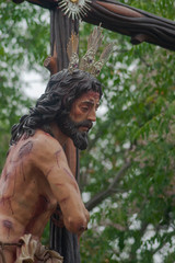 Fototapete - Semana santa de Sevilla, hermandad del Sol