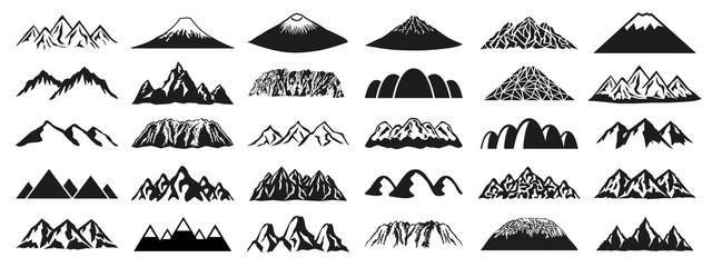 山 アイコンセット
