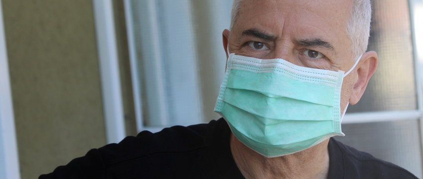 Mascherina protettiva - coronavirus