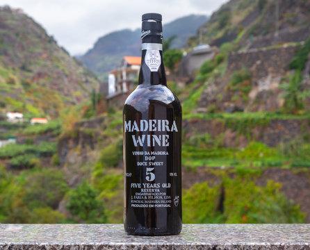 MADEIRA WINE BOTTLE,