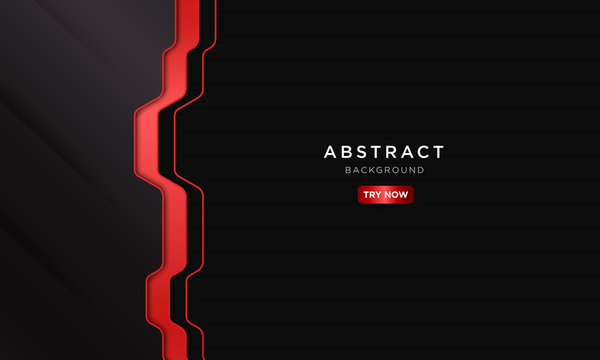 abstract dark red sport background with modern shape, future robotic concept wallpaper.