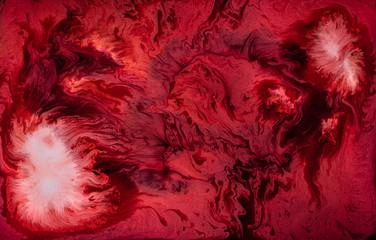 Swirly Galaxy Abstract Liquid Background