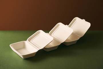 Biodegradable packaging concept