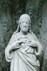 Keuken foto achterwand Historisch mon. Sacred Heart Jesus Statue
