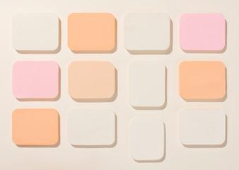 Make-Up Sponges Composition