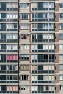 Apartment block grid